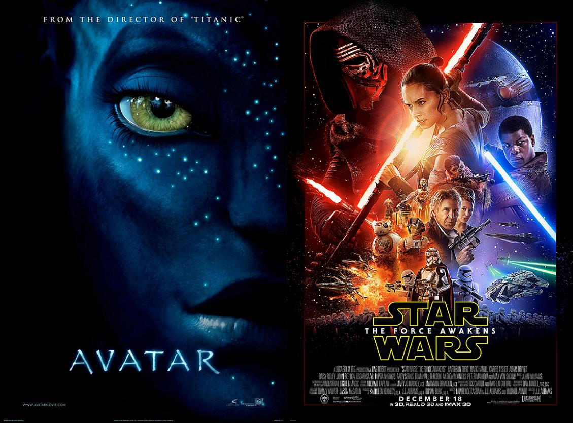 Star Wars VII vs Avatar: Epic Box Office Battle of History